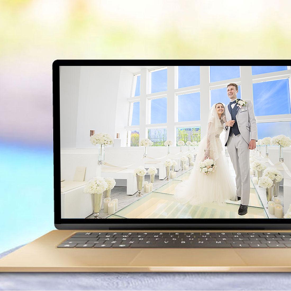 リアル挙式披露宴+オンラインウェディングプラン