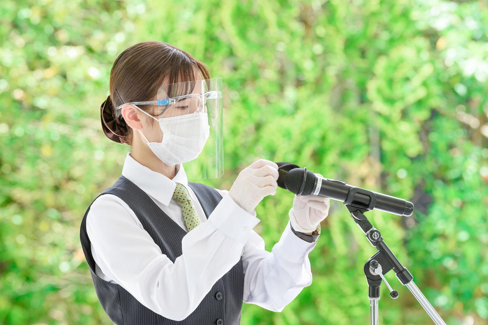 コロナウイルス対策写真イメージ